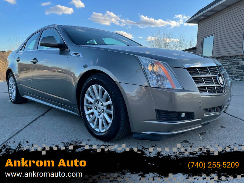 2010 Cadillac CTS for sale at Ankrom Auto in Cambridge OH