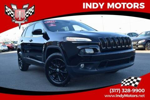 2017 Jeep Cherokee for sale at Indy Motors Inc in Indianapolis IN