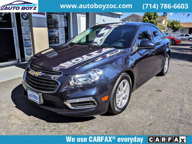 2016 Chevrolet Cruze Limited for sale in Garden Grove, CA