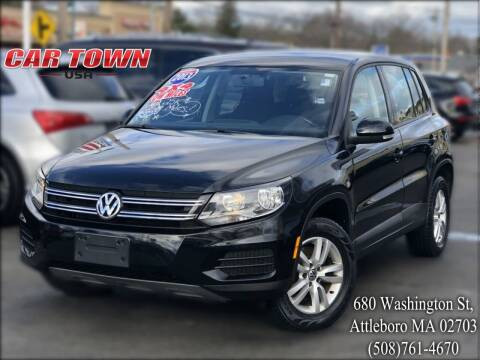 2013 Volkswagen Tiguan for sale at Car Town USA in Attleboro MA