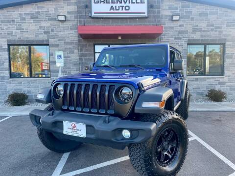 2018 Jeep Wrangler Unlimited for sale at GREENVILLE AUTO in Greenville WI