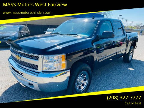 2013 Chevrolet Silverado 1500 for sale at MASS Motors West Fairview in Boise ID