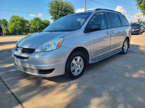 2004 Toyota Sienna for sale at CityWide Motors in Garland TX