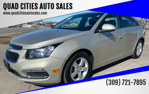2015 Chevrolet Cruze for sale at QUAD CITIES AUTO SALES in Milan IL