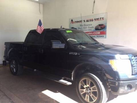 2014 Ford F-150 for sale at Antonio's Auto Sales in South Houston TX