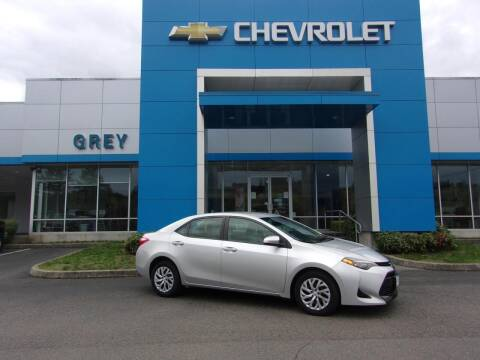 2017 Toyota Corolla for sale at Grey Chevrolet, Inc. in Port Orchard WA