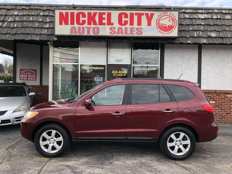 2008 Hyundai Santa Fe for sale at NICKEL CITY AUTO SALES in Lockport NY