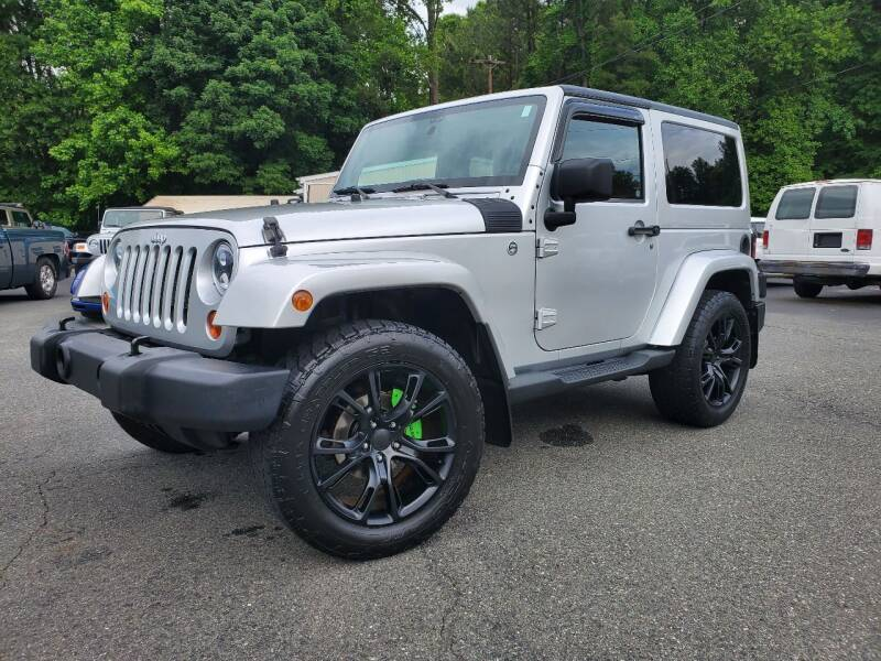 2012 Jeep Wrangler for sale at Brown's Used Auto in Belmont NC