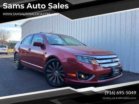 2012 Ford Fusion for sale at Sams Auto Sales in North Highlands CA