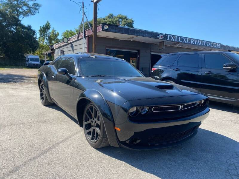 2012 Dodge Challenger for sale at Texas Luxury Auto in Houston TX