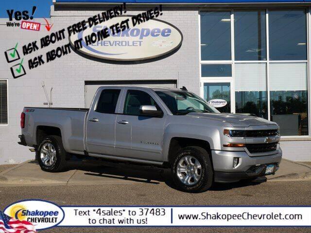 2018 Chevrolet Silverado 1500 for sale at SHAKOPEE CHEVROLET in Shakopee MN