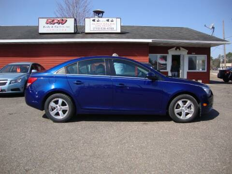2013 Chevrolet Cruze for sale at G and G AUTO SALES in Merrill WI