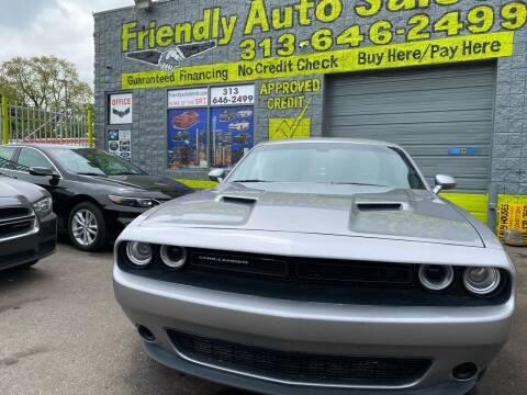 2015 Dodge Challenger for sale at Friendly Auto Sales in Detroit MI