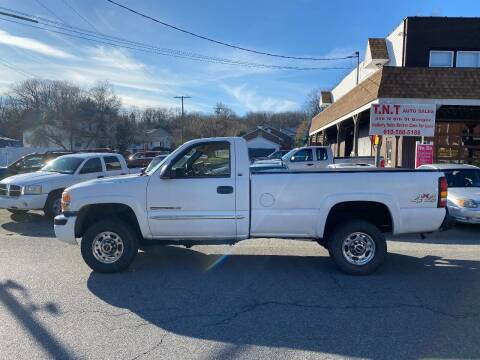 2005 GMC Sierra 2500HD for sale at TNT Auto Sales in Bangor PA