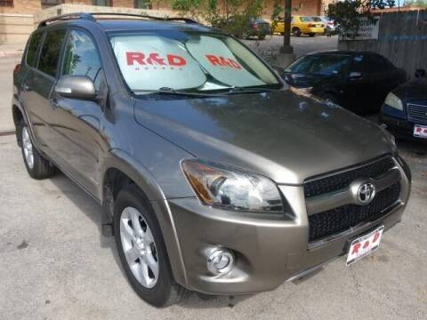 2010 Toyota RAV4 for sale at R & D Motors in Austin TX