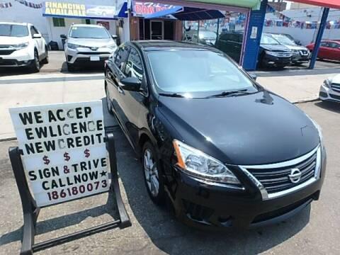 2015 Nissan Sentra for sale at 4530 Tip Top Car Dealer Inc in Bronx NY