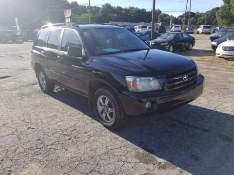 2005 Toyota Highlander for sale at DREWS AUTO SALES INTERNATIONAL BROKERAGE in Atlanta GA