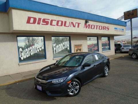 2017 Honda Civic for sale at Discount Motors in Pueblo CO