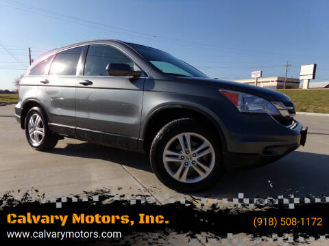 2011 Honda CR-V for sale at Calvary Motors, Inc. in Bixby OK