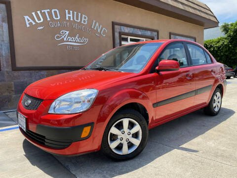 2009 Kia Rio for sale at Auto Hub, Inc. in Anaheim CA