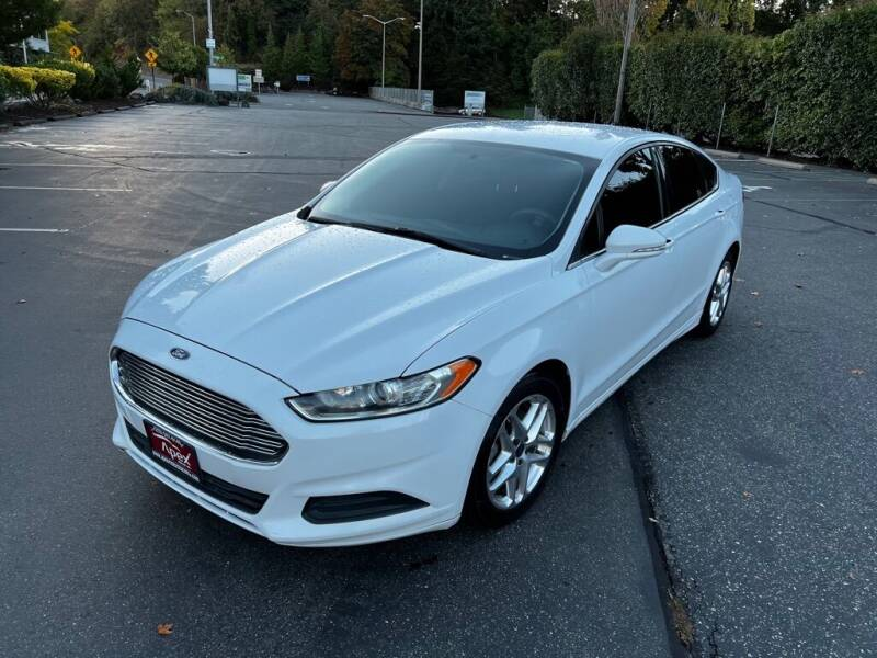 2013 Ford Fusion for sale at Apex Motors Inc. in Tacoma WA