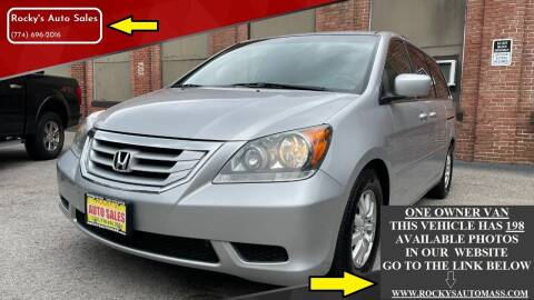 2010 Honda Odyssey for sale at Rocky's Auto Sales in Worcester MA
