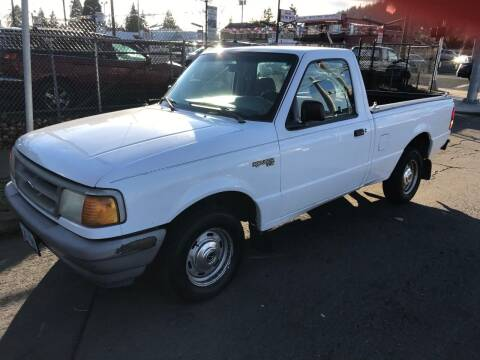 1995 Ford Ranger for sale at Chuck Wise Motors in Portland OR