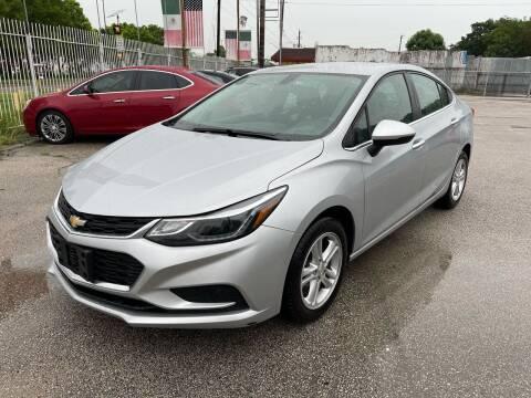 2018 Chevrolet Cruze for sale at Saipan Auto Sales in Houston TX