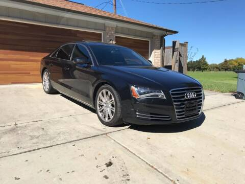 2014 Audi A8 for sale at Texas Luxury Auto in Houston TX