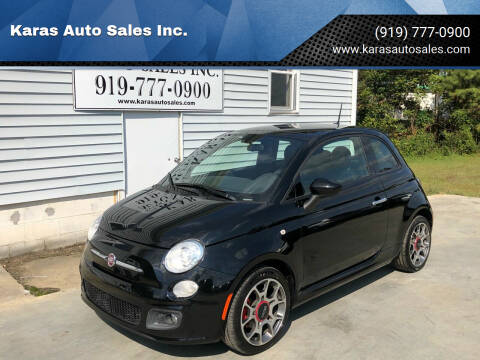 2015 FIAT 500 for sale at Karas Auto Sales Inc. in Sanford NC