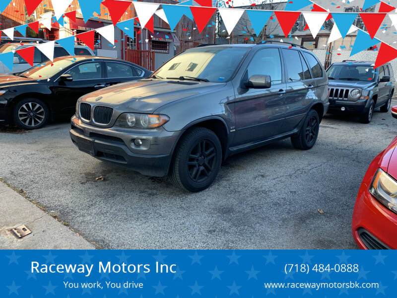 2006 BMW X5 for sale at Raceway Motors Inc in Brooklyn NY
