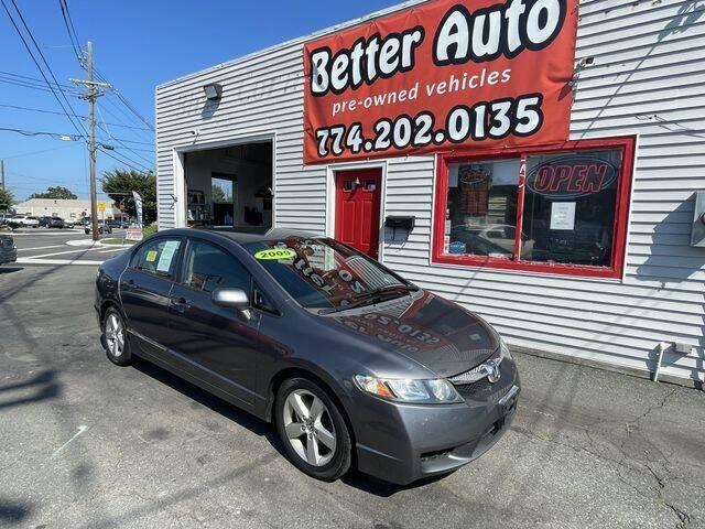 2009 Honda Civic for sale at Better Auto in Dartmouth MA
