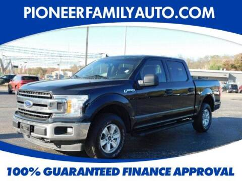 2019 Ford F-150 for sale at Pioneer Family auto in Marietta OH