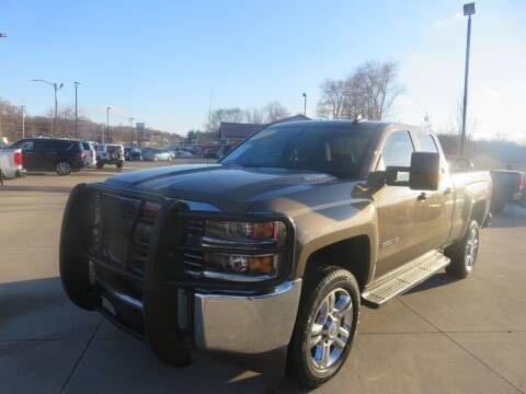 2015 Chevrolet Silverado 2500HD for sale at Azteca Auto Sales LLC in Des Moines IA