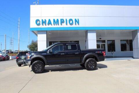 2018 Ford F-150 for sale at Champion Chevrolet in Athens AL