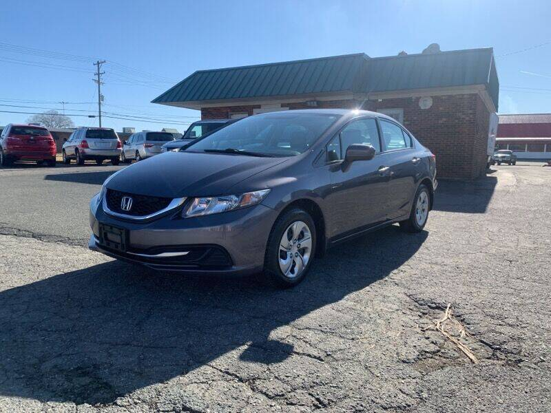 2015 Honda Civic for sale at Main Street Auto LLC in King NC