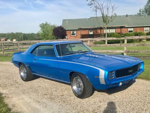 1969 Chevrolet Camaro for sale at 500 CLASSIC AUTO SALES in Knightstown IN