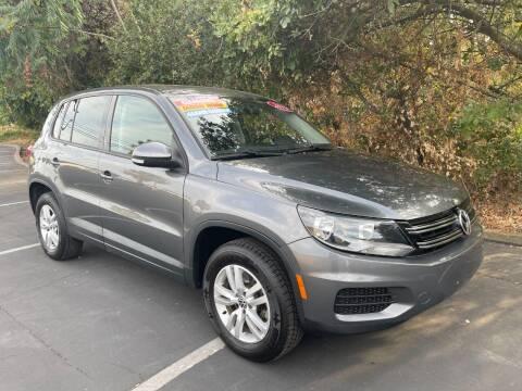 2013 Volkswagen Tiguan for sale at Car Deal Auto Sales in Sacramento CA
