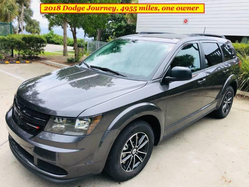 2018 Dodge Journey for sale at SIMON & DAVID AUTO SALE in Port Charlotte FL