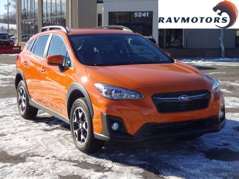 2018 Subaru Crosstrek for sale at RAVMOTORS 2 in Crystal MN