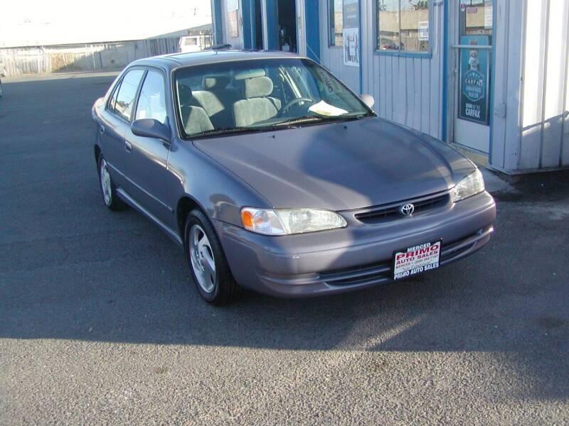 1998 Toyota Corolla for sale at Primo Auto Sales in Merced CA
