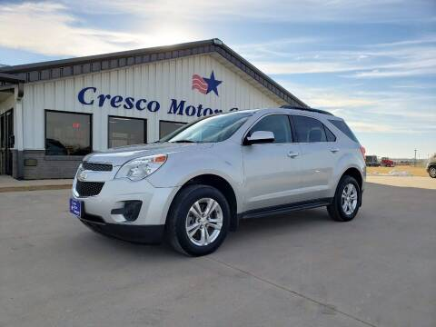 2015 Chevrolet Equinox for sale at Cresco Motor Company in Cresco IA