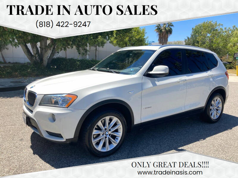 2013 BMW X3 for sale at Trade In Auto Sales in Van Nuys CA
