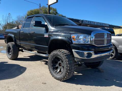 2008 Dodge Ram Pickup 2500 for sale at Texas Luxury Auto in Houston TX