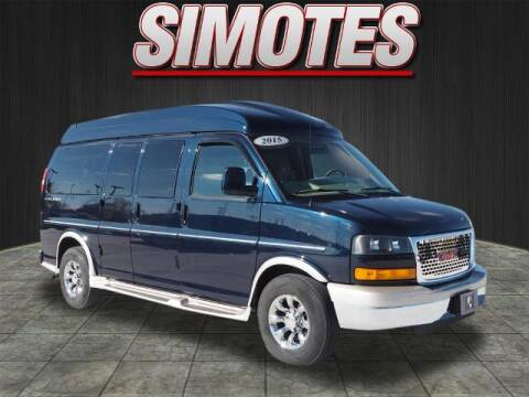 2015 GMC Savana Cargo for sale at SIMOTES MOTORS in Minooka IL
