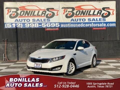 2013 Kia Optima for sale at Bonillas Auto Sales in Austin TX