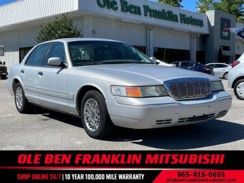 2000 Mercury Grand Marquis for sale at Ole Ben Franklin Mitsbishi in Oak Ridge TN