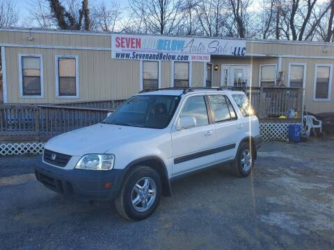 1999 Honda CR-V for sale at Seven and Below Auto Sales, LLC in Rockville MD