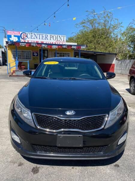 2014 Kia Optima for sale at Centerpoint Motor Cars in San Antonio TX