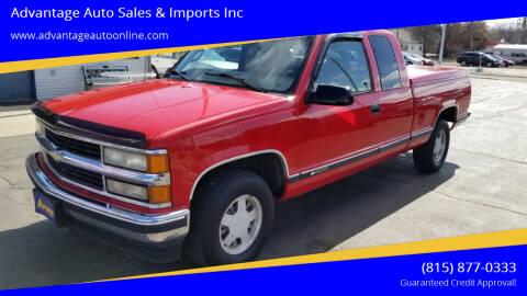 1997 Chevrolet C/K 1500 Series for sale at Advantage Auto Sales & Imports Inc in Loves Park IL
